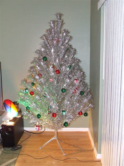 aluminum christmas tree best way to bring whimsical accent