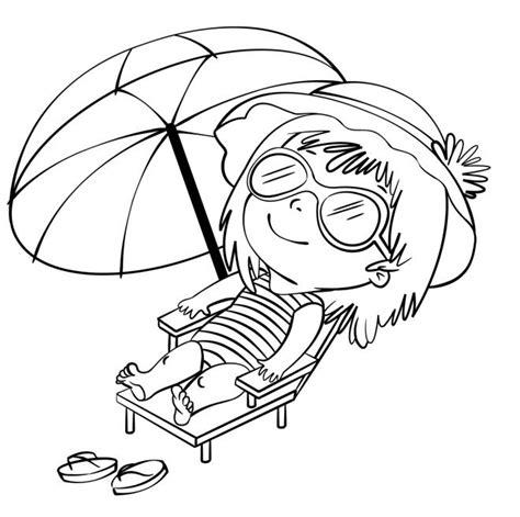 disegni bimbi al mare da colorare disegno per bambini da colorare gratis vacanze mare