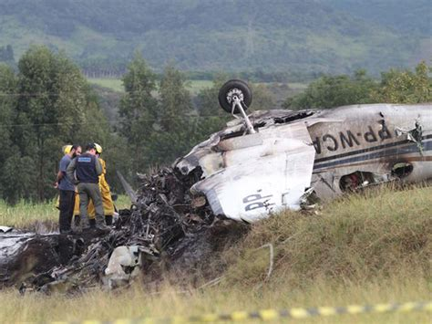 Crash Of A Beechcraft King Air C90b In Jundiaí