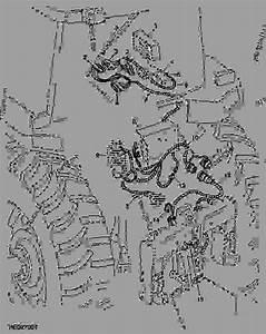Wiring Harness  Row-trak  -  U62d6 U62c9 U673a John Deere 7700