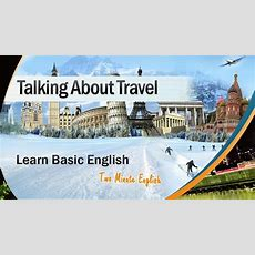 Holiday English  English Conversations During Travel And Holidays  Speak English On Vacations