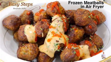 meatballs frozen air fryer italian recipe cook cfood recipes