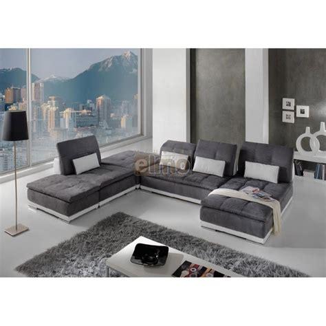 canape italien contemporain canapé modulable canapé d 39 angle contemporain
