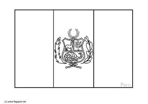 image result  bandera de peru  colorear bandera
