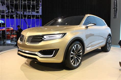 Lincoln Mkx Concept Beijing 2018 Photo Gallery Autoblog
