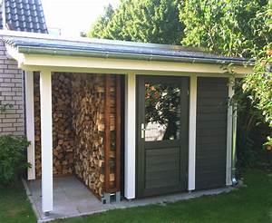 Gartenhaus Mit Holzlager : abstellraum mit holzlager pollmeier holzbau gmbh ~ Whattoseeinmadrid.com Haus und Dekorationen