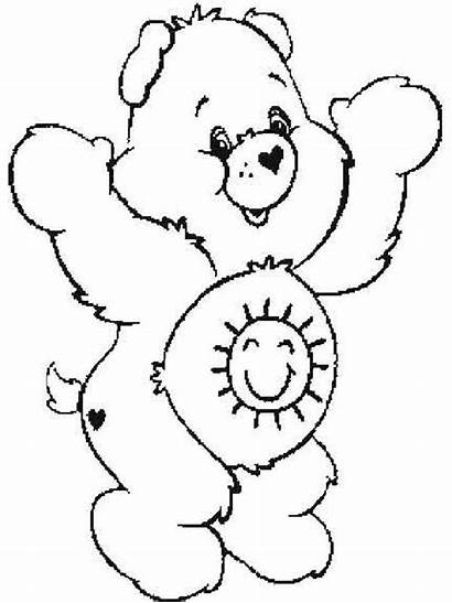Coloring Care Pages Bears Popular