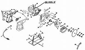 Craftsman Circular Saw Armature Assembly Parts