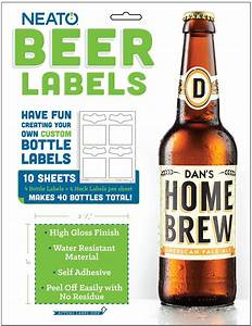 22 clever gifts for the beer lovers in your life simplemost for Beer bottle label size
