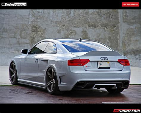 amazing audi s new car spirit amazing audi rs5 with cv5 vossen wheels