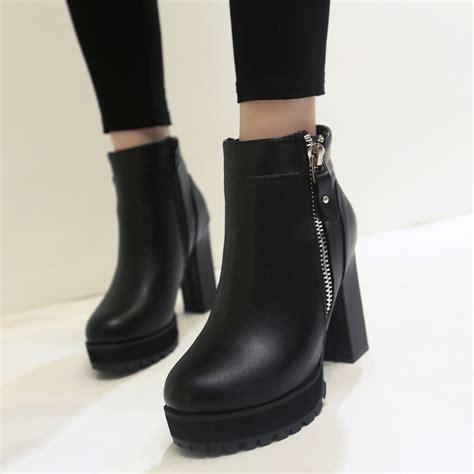 designer boots s faux leather ankle boots designer fashion platform