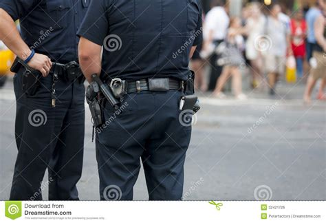 Police Guarding Royalty Free Stock Image  Image 32421726