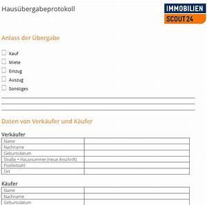 Wohnung Mieten Checkliste : haus bergabeprotokoll mustervorlage f r haus bergabe als download ~ A.2002-acura-tl-radio.info Haus und Dekorationen