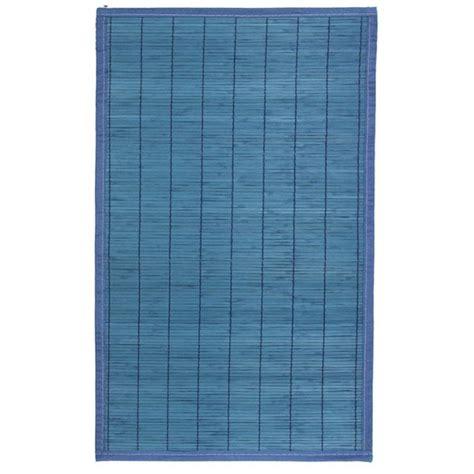 tapis en bambou  lattes fines    cm violet maison futee