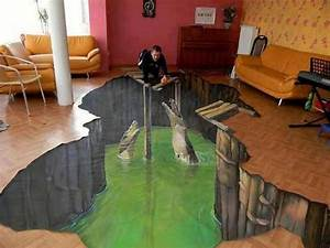 3D Floor Art Will Make Your Home Looks More Artistic