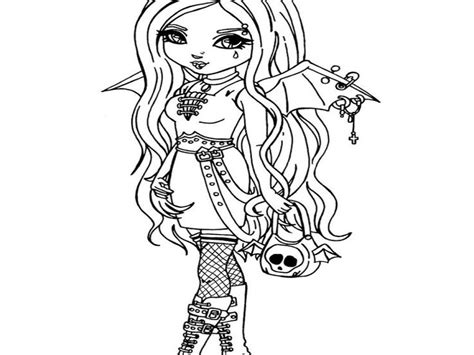 Gothic Fairy Coloring Pages Printable at GetColorings com