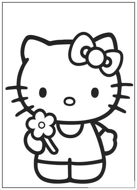 ausmalbilder zum ausdrucken ausmalbilder von  kitty
