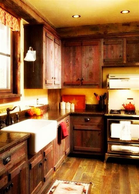 Inspiration To Plan Small Rustic Kitchen Ideas