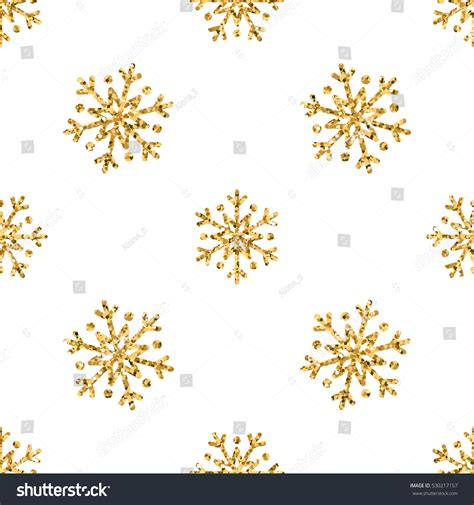 Background Gold Snowflake Seamless Wallpaper by Snowflake Seamless Pattern Gold Snow Stock