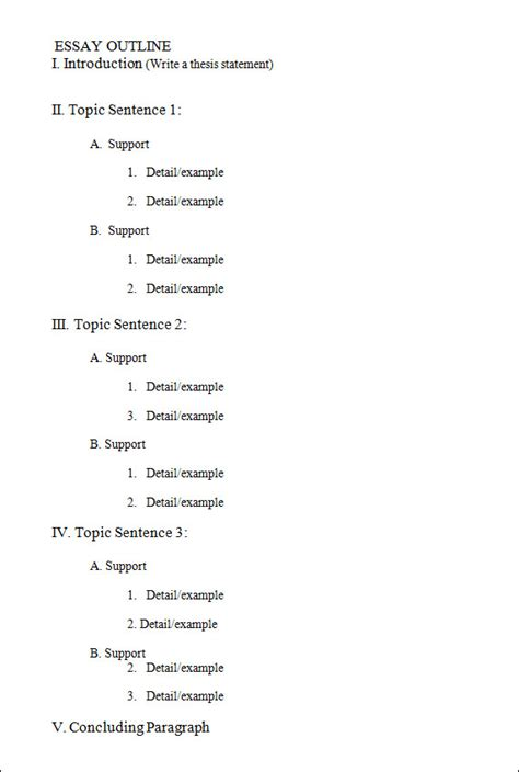 best photos of printable outline format blank paper