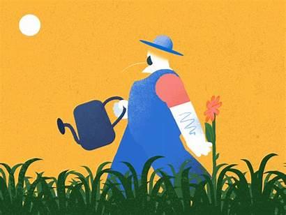 Gardener Constant Dribbble Pays Sooner Tough Job