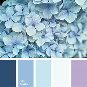 Blue Color Palettes, cold shades, color matching, color ...