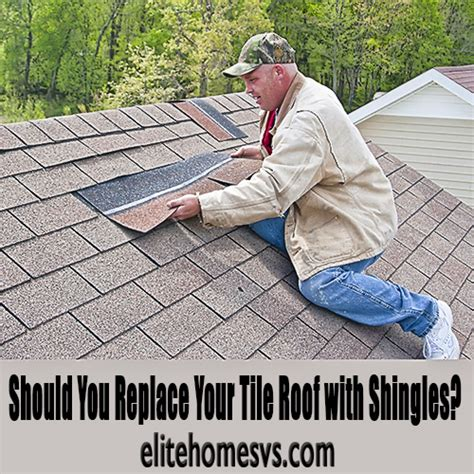 should you replace your tile roof with shingles