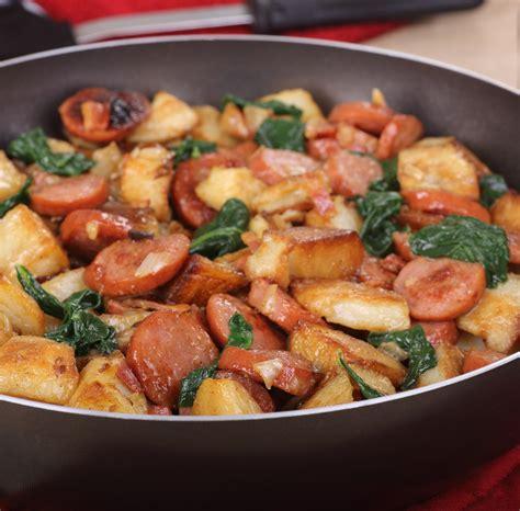 Pork Kabbanos And Potatoes Skillet  Swiss Deli