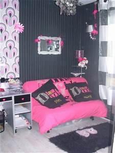 Lit Jeune Fille : chambre de jeune fille 7 photos sylser ~ Teatrodelosmanantiales.com Idées de Décoration