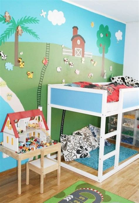boys room ideas ikea 45 cool ikea kura beds ideas for your rooms digsdigs