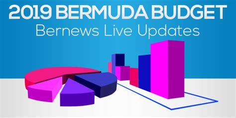 audio updates minister delivers budget bernews