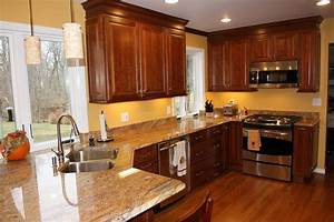 Modern Looks Kitchen wall colors with cherry cabinets