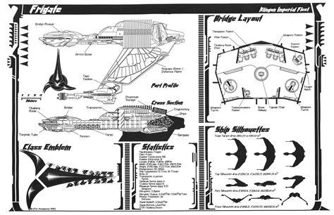 Bunk Bed Plans Pdf by Star Trek Blueprints Jackill S Klingon K Vort Class Frigate