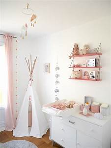 Guirlande Chambre Fille : la chambre b b de l a kidsroom pinterest chambre ~ Teatrodelosmanantiales.com Idées de Décoration