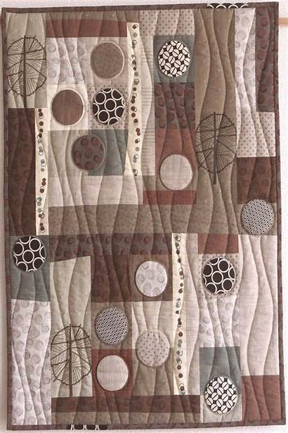 Taupe Quilt Quilts Patchwork Lucie Zaugg Sophie