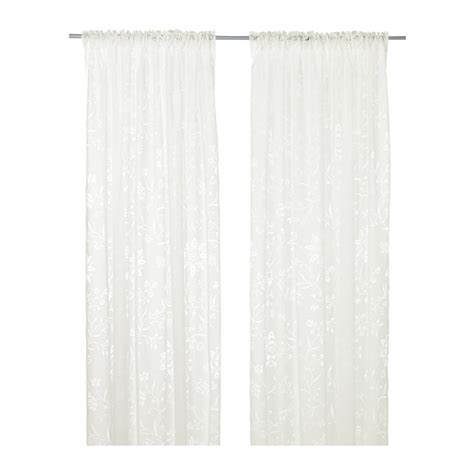 borghild sheer curtains 1 pair ikea