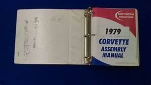 Purchase 1979 Chevrolet Corvette Factory Assembly Manual