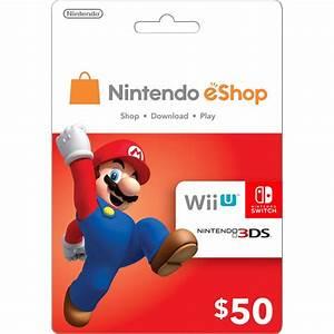 Nintendo EShop Card 50 USD USA Account Digital