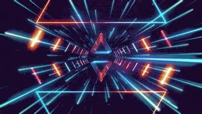 Future Retro Lighting Romanowsky Neon Lights Tunnel