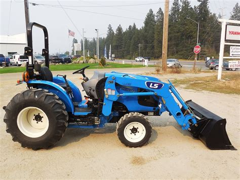 Photo and video for sale. LS Model MT230E Tractor & Loader, 30 HP Diesel Engine, 4WD, Shuttle Shift Transmission