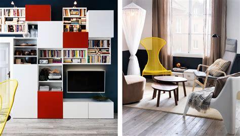 Ikea Österreich, Wohnzimmer Mit BestÅ Aufbewahrungskombi