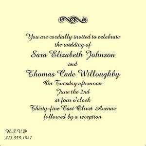 wedding invitation etiquette and wedding invitation With wedding invitations text format