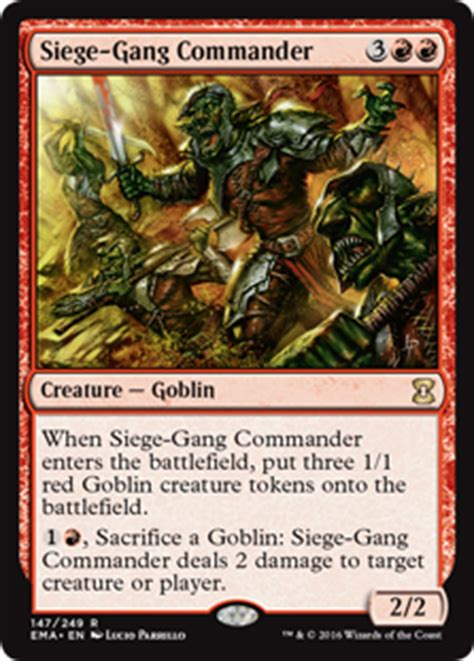 budget goblin commander deck averagejoesmtg awesome budget commander deck abcd