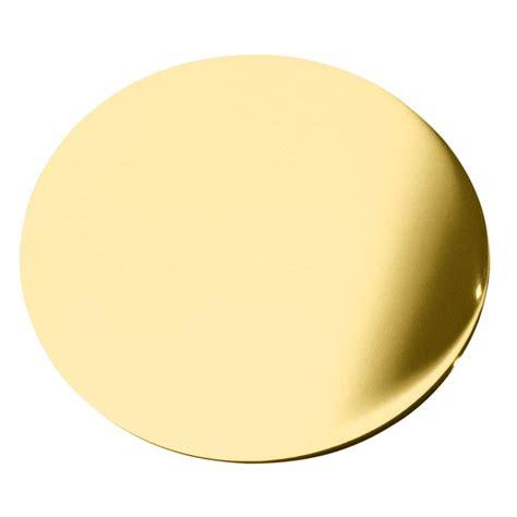 gold bathroom rugs kohler 1 3 4 in sink cover in vibrant polished