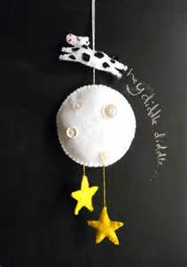 Cow Jumped Over the Moon Baby Mobile