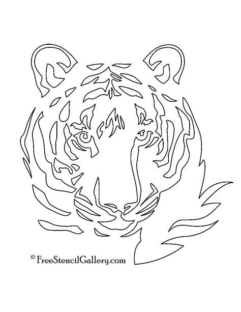 Tiger Stencil | Free Stencil Gallery