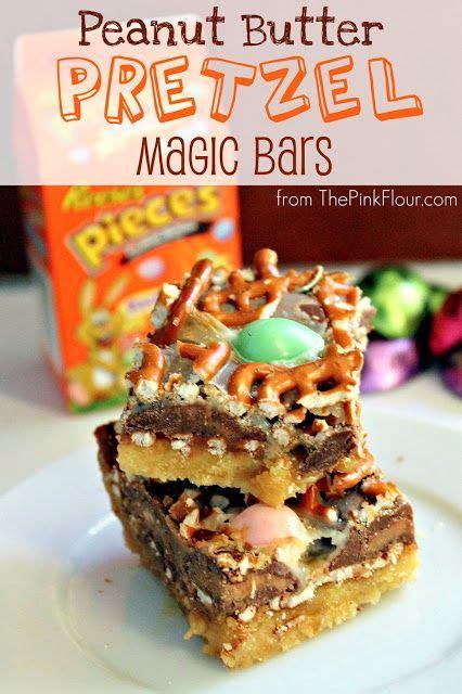 peanut butter pretzel magic bars recipe recipes