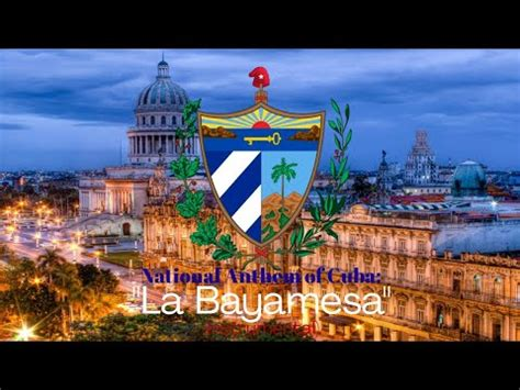 """Most forms of the present day are creolized fusions and mixtures of these sources. National Anthem of Cuba: """"La Bayamesa"""" (Instrumental ..."""
