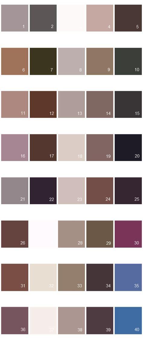 behr paint color swatches valspar paint colors colony palette 12 house paint colors