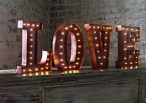 led wall art battery operated 12 inch lighted metal With 12 inch metal letters